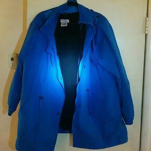 Serengeti Rain Jacket 1X Blue